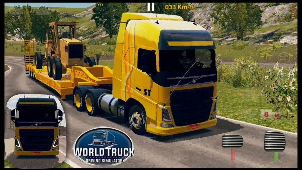 بازی شبیه ساز رانندگی کامیون جهانی